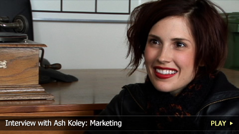 Interview with Ash Koley: Marketing