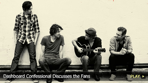 Dashboard Confessional Discusses the Fans