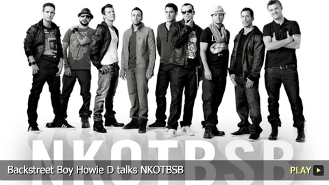 Backstreet Boy Howie D talks NKOTBSB