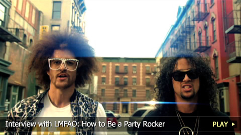 Interview with LMFAO: How to Be a Party Rocker