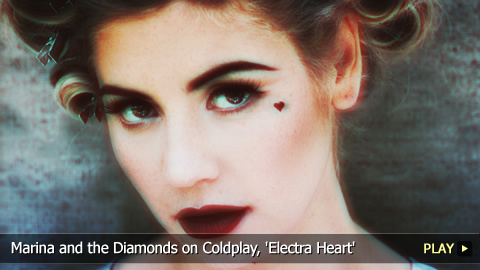 Marina and the Diamonds on Coldplay, 'Electra Heart'