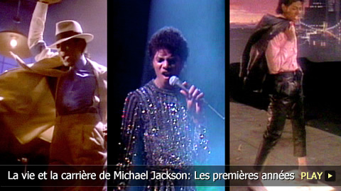 La vie et la carrire de Michael Jackson: Les premires annes