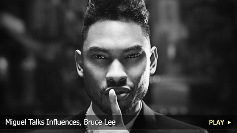 Miguel Talks Influences, Bruce Lee