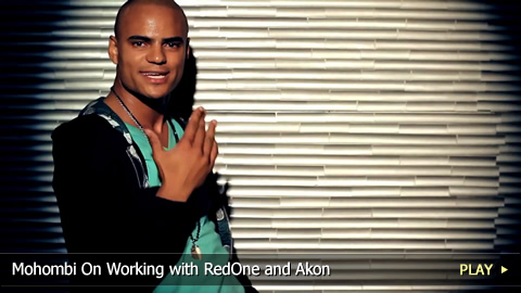 Mohombi On Working with RedOne and Akon