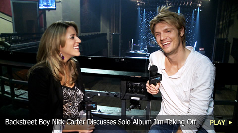 Backstreet Boy Nick Carter Discusses Solo Album I'm Taking Off