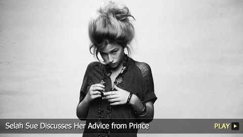 Selah Sue Discusses Her Advice from Prince
