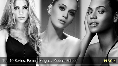 Top 10 Sexiest Female Singers: Modern Edition