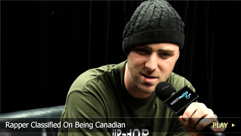 Rapper Classified On Being Canadian