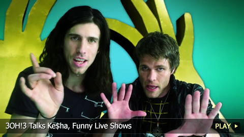 3OH!3 Talks Ke$ha, Funny Live Shows