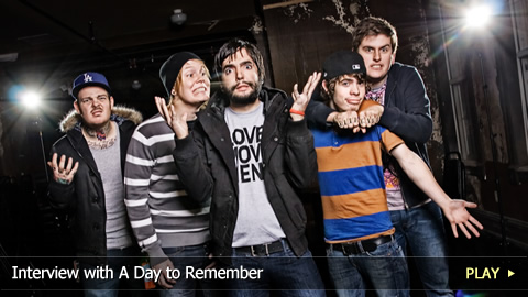 Interview with A Day to Remember