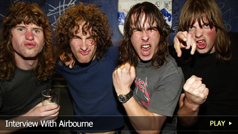 Interview With Airbourne