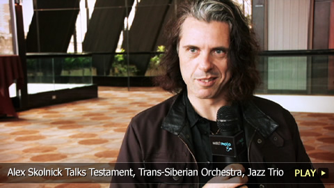 Alex Skolnick Talks Testament, Trans-Siberian Orchestra, Jazz Trio