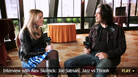 Interview with Alex Skolnick: Joe Satriani, Jazz vs Thrash
