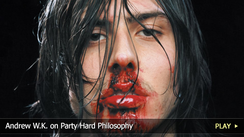Andrew W.K. On Party Hard Philosophy