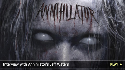 Interview with Annihilator's Jeff Waters