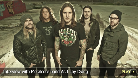 Interview with Metalcore Band As I Lay Dying