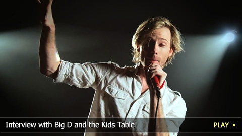 Interview with Big D and the Kids Table