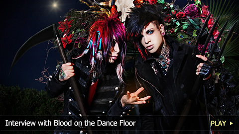 Interview with Blood on the Dance Floor