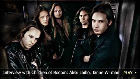 Interview with Children of Bodom: Alexi Laiho, Janne Wirman