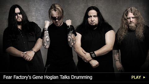 Fear Factory's Gene Hoglan Talks Drumming