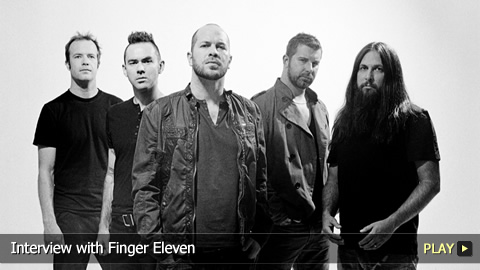 Interview with Finger Eleven