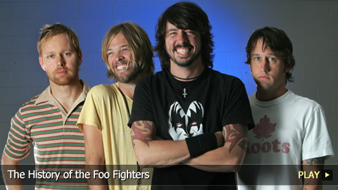 The History of the Foo Fighters