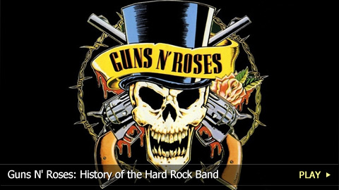 Guns N' Roses: History of the Hard Rock Band