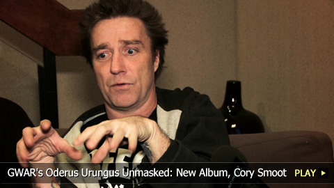 GWAR's Oderus Urungus Unmasked: New Album, Cory Smoot Death