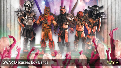 GWAR Discusses Boy Bands