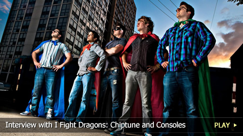 Interview with I Fight Dragons: Chiptune and Consoles as Instruments