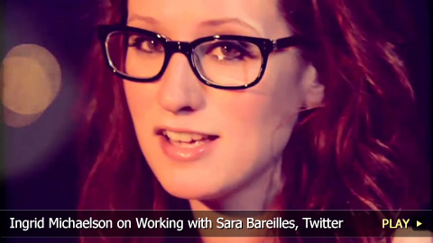 Ingrid Michaelson on Working with Sara Bareilles, Twitter