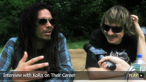 Interview With KoRn on Their Career