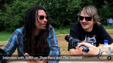 Interview With KoRn on Their Fans and The Internet