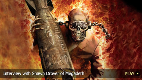 Interview With Shawn Drover of Megadeth