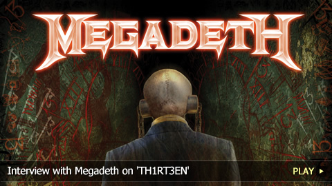 Interview with Megadeth on 'TH1RT3EN'
