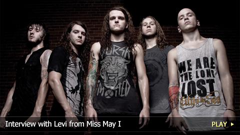 Interview with Levi from Miss May I