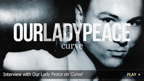 Interview with Our Lady Peace on 'Curve'