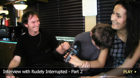 Interview With Rudely Interrupted Pt. 2