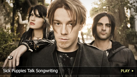 Sick Puppies Talk Songwriting