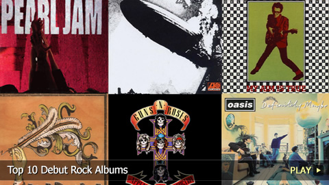 Top 10 Debut Rock Albums