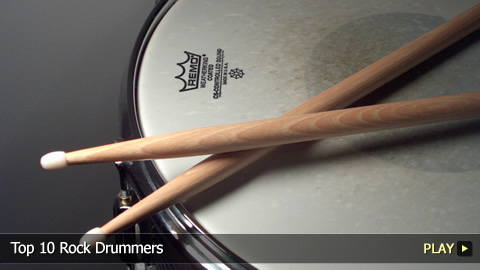 Top 10 Rock Drummers