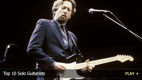 Top 10 Solo Guitarists