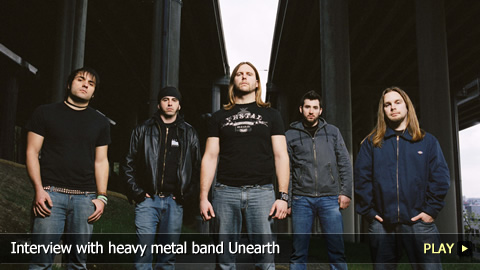 Interview with heavy metal band Unearth