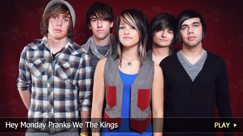 Hey Monday Pranks We The Kings
