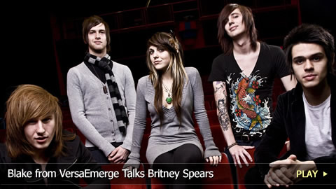 Blake from VersaEmerge Talks Britney Spears