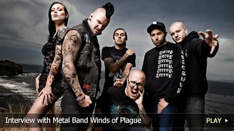 Interview with Metal Band Winds of Plague
