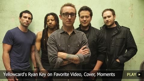 Yellowcard's Ryan Key on Favorite Video, Cover, Moments