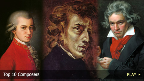 Top 10 Composers