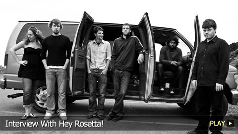 Interview With Hey Rosetta!