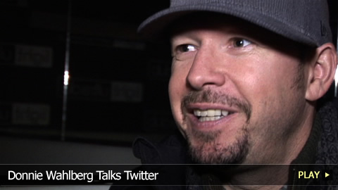 Donnie Wahlberg Talks Twitter